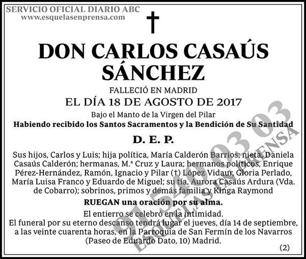 Carlos Casaús Sánchez